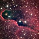Elephant Trunk nebula,                                keving