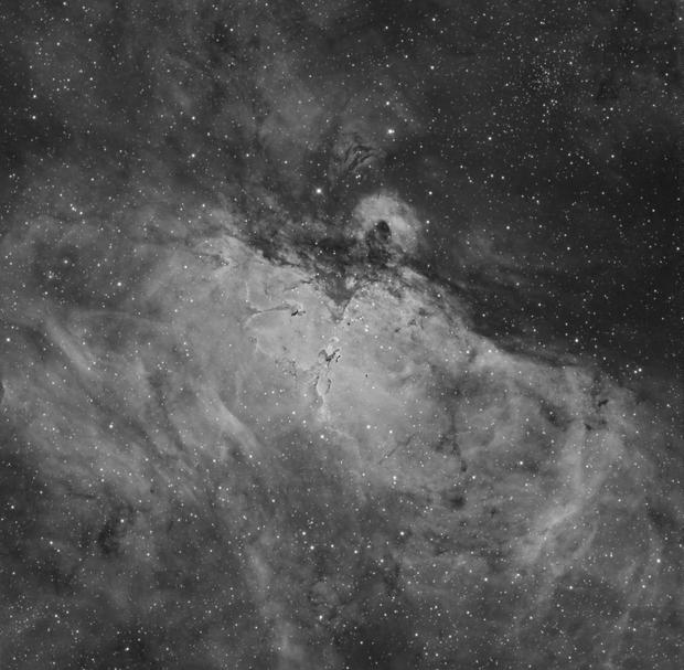 Eagle Nebula in H-Alpha,                                Scott Tucker