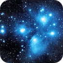 Messier 45 The Pleiades,                                Roy Hagen