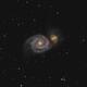 M51 - Whirlpool Galaxy,                                Wolfgang Widhalm