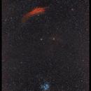 From The California Nebula to M45,                                Dominique Callant