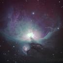 M 42 - Orion Nebula,                                Oliveira