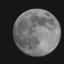 La lune au 08/06/2017,                                Maxime Delin