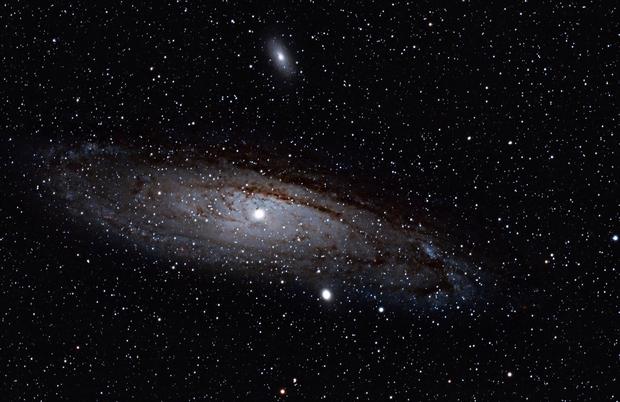 M31 - 1st time Deep Sky picture,                                Sylvain Lendrevie