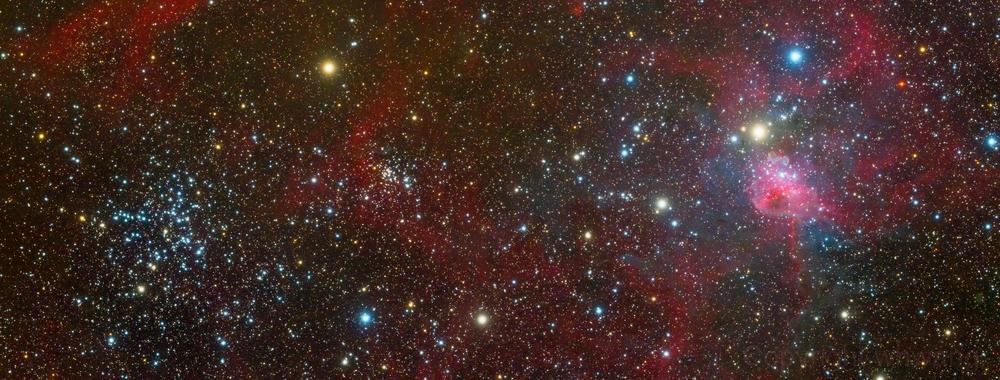 M38 and IC417,                                Wei-Hao Wang
