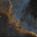 NGC 7000 (The Wall),                                John Leader