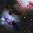 M43- NGC 1977 Running Man,                                Marius