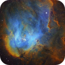 The Running Chicken Nebula - Hubble Palette - IC 2944,                                Eric Coles (coles44)