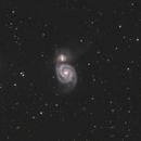 M51 Whirlpool Galaxy,                                Michael Deyerler