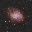 M1 Crab Nebula photographed out of Düsseldorf,                                Runo