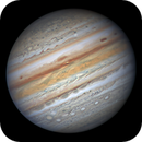Jupiter with Oval BA in Excellent seeing,                                周志伟