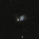 M51 The Whirlpool Galaxy,                                Stan Smith
