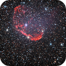 NGC6888 3.5hr Streched,                                akulapanam