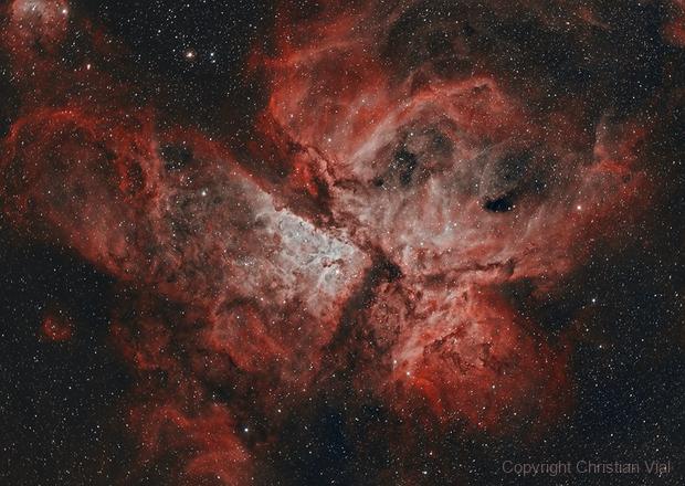 Carina Nebula,                                Christian Vial Arce