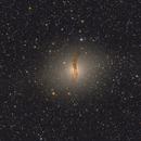NGC 5128 crop ( farblich überarbeitet ),                                Mario Richter