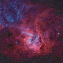 Sh2-132  nébuleuse du lion HOO,                                astromat89