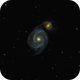 Messier 51 - The Whirlpool Galaxy,                                Tanguy Dietrich