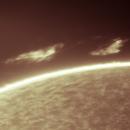 Cloud-Like Solar Prominence,                                Loran Hughes