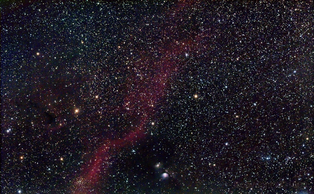 Part of Orion with M 78,                                AC1000