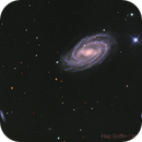 M109 - Barred Spiral Galaxy in Ursa Major,                                Hap Griffin