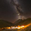 Bazza Camp and Milky Way,                                David J Roberts