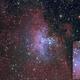 Eagle Nebula M16 / Pillars of Creation,                                Michi Scheidegger