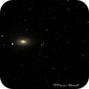 M-63 in Canes Venatici,                                Francois Theriault