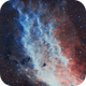 California Nebula NGC1499 (from SE London),                                Carastro