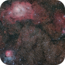 Lagoon and Trifid Nebulas, and friends,                                Diego Cartes