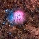 Messier 20 en HaRVB,                                Georges