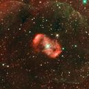 NGC6164 (Ha and OIII),                                Eduardo Oliveira