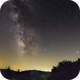 Milky Way from a dark site,                                Francisco