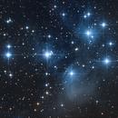 Pleiadi - M45,                                Valerio Pardi