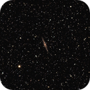NGC 891 - edge-on Spiral Galaxy and surroundings,                                gigiastro