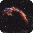 NGC 6992 Eastern Veil Nebula 20210608 20160s HOO 01.4.3,                                Allan Alaoui