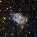 Little Dumbbell Nebula Messier 76 - HaRGB - Liverpool Telescope :-),                                Daniel Nobre