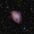 M1 Crab Nebula,                                bawind Lin