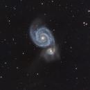 Messier 51,                                Jenafan