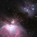 M42 region,                                Sergio Alessandrelli