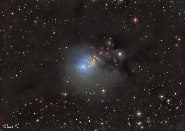 NGC 1333 in Ha-LRGB,                                Spoutnik17
