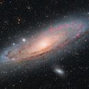 M31 Andromeda Galaxy,                                Dan Kusz