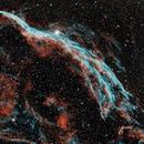 Veil Nebula in Narrow Band,                                Charlie Miller