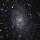 Beercan astronomy: Triangulum galaxy M33,                                Doc_HighCo