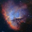 NGC281 - SHO versionB,                                  Arnaud Peel