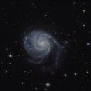 M101 in Ursa Major,                                Nurinniska
