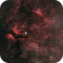 Im Herzen des Schwans / In the heart of the swan - from NGC 6914 via IC 1318 to NGC 6888,                                Michael Hoppe