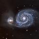 M51_L_RGB,                                Bernard DELATTRE