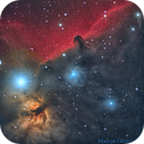 IC 434 Horse Head Nebula Flame Nebula,                    Maicon Germiniani
