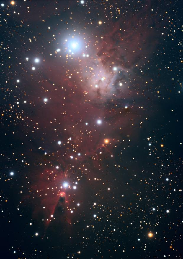 NGC 2264,                                pedxing