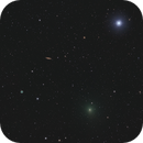 Comet Tuttle-Giacobini-Kresak approaching Messiers 97 and 108,                                Tony Cook